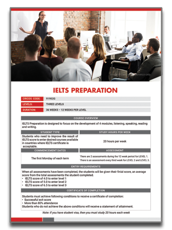 ALC-IELTS Preparation